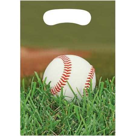 Sports Fanatic Baseball Loot Bags, 8pk