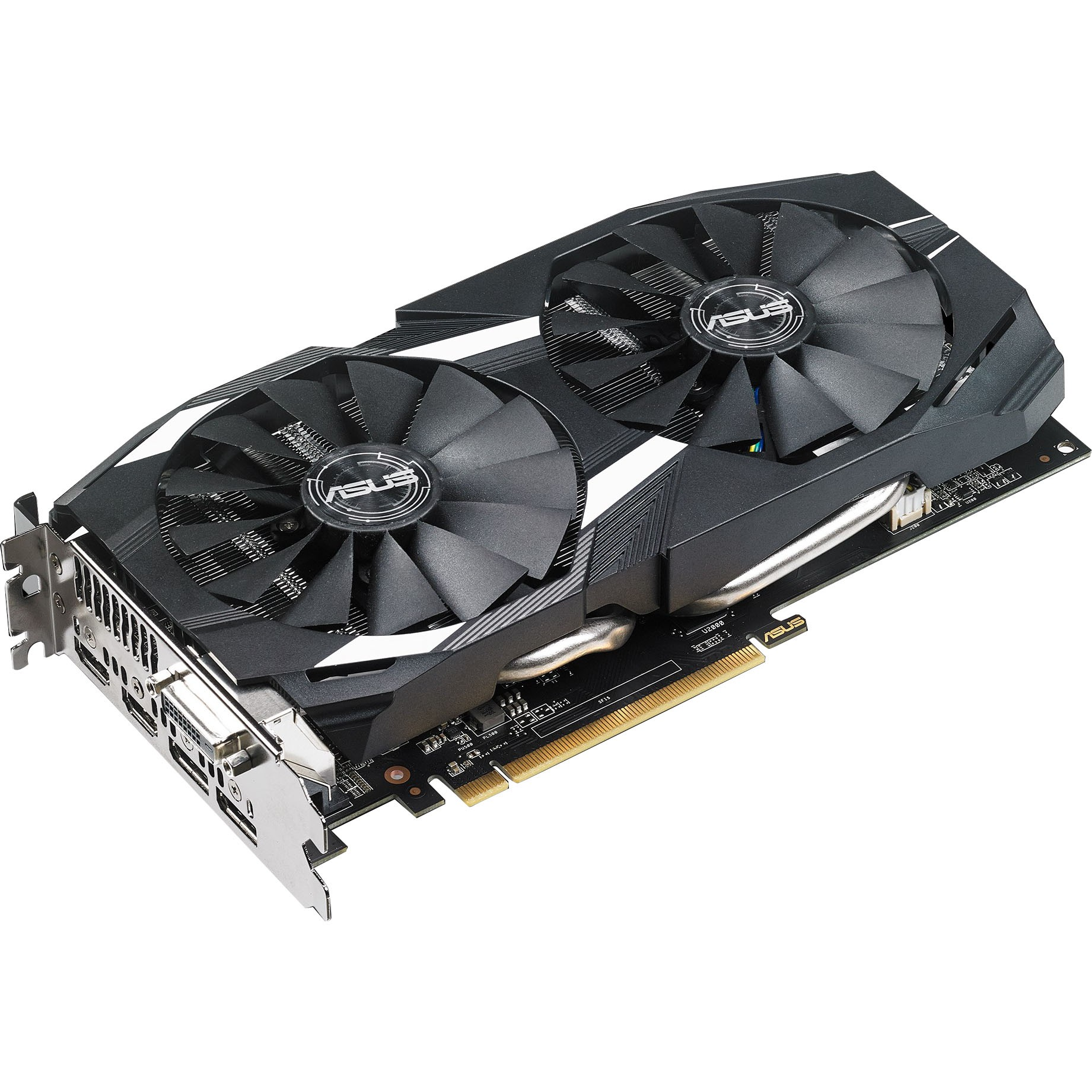 Asus Dual-Rx580-O8G Graphics Card - DUAL-RX580-O8G Gaming Bundle Included