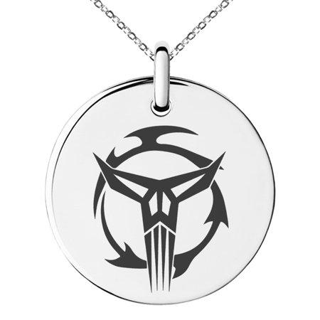 Stainless Steel Star Wars Mandalorian Neo Crusaders Symbol