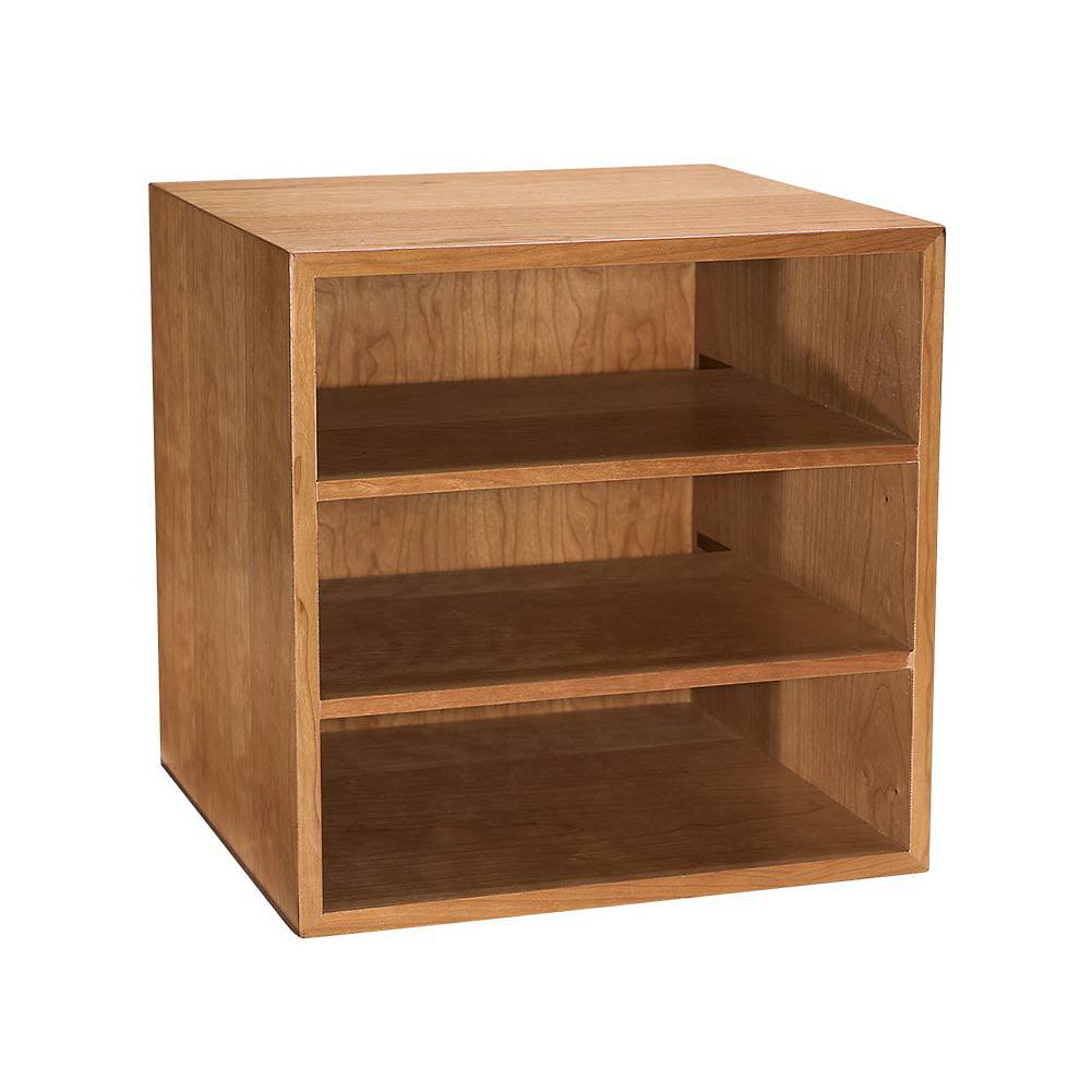 Levenger Cubi Desk Bookcase - Natural Cherry