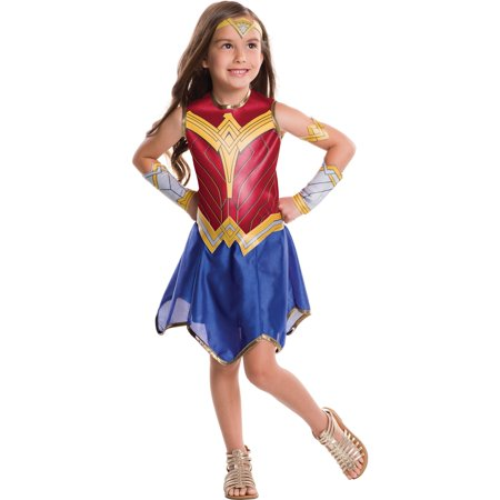 Girls Wonder Woman Costume - Girls Hippy Costume