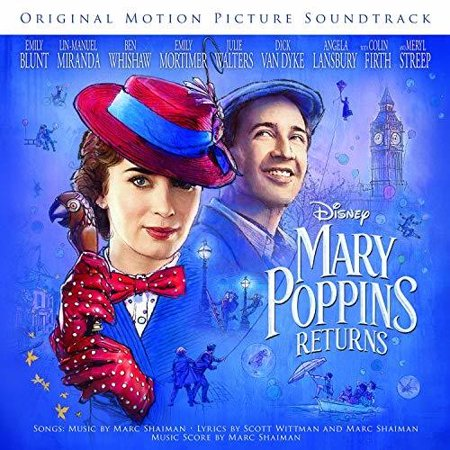 Mary Poppins Returns (Original Motion Picture Soundtrack) (CD)](Original Halloween Movie Soundtrack)