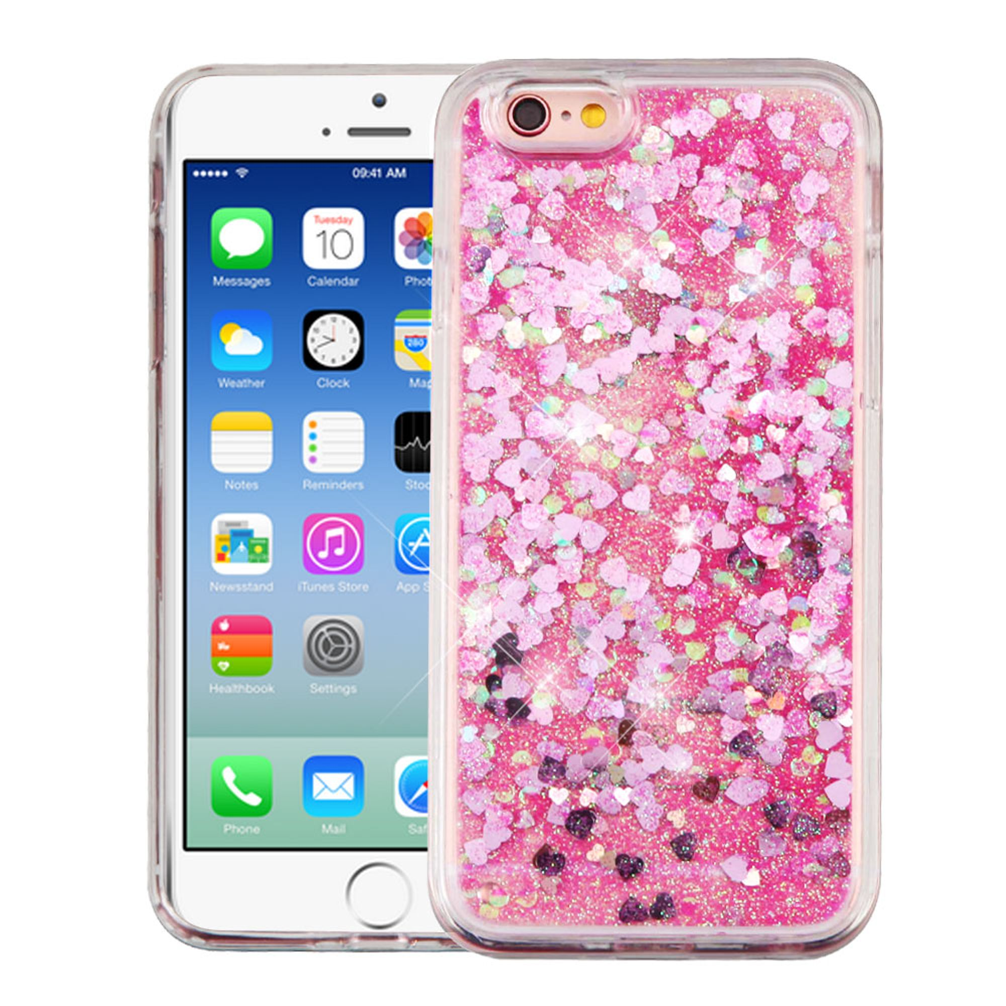 iPhone 6s case by Insten Luxury Quicksand Glitter Liquid Floating Sparkle Bling Fashion Phone Case Cover for Apple iPhone 6s / 6
