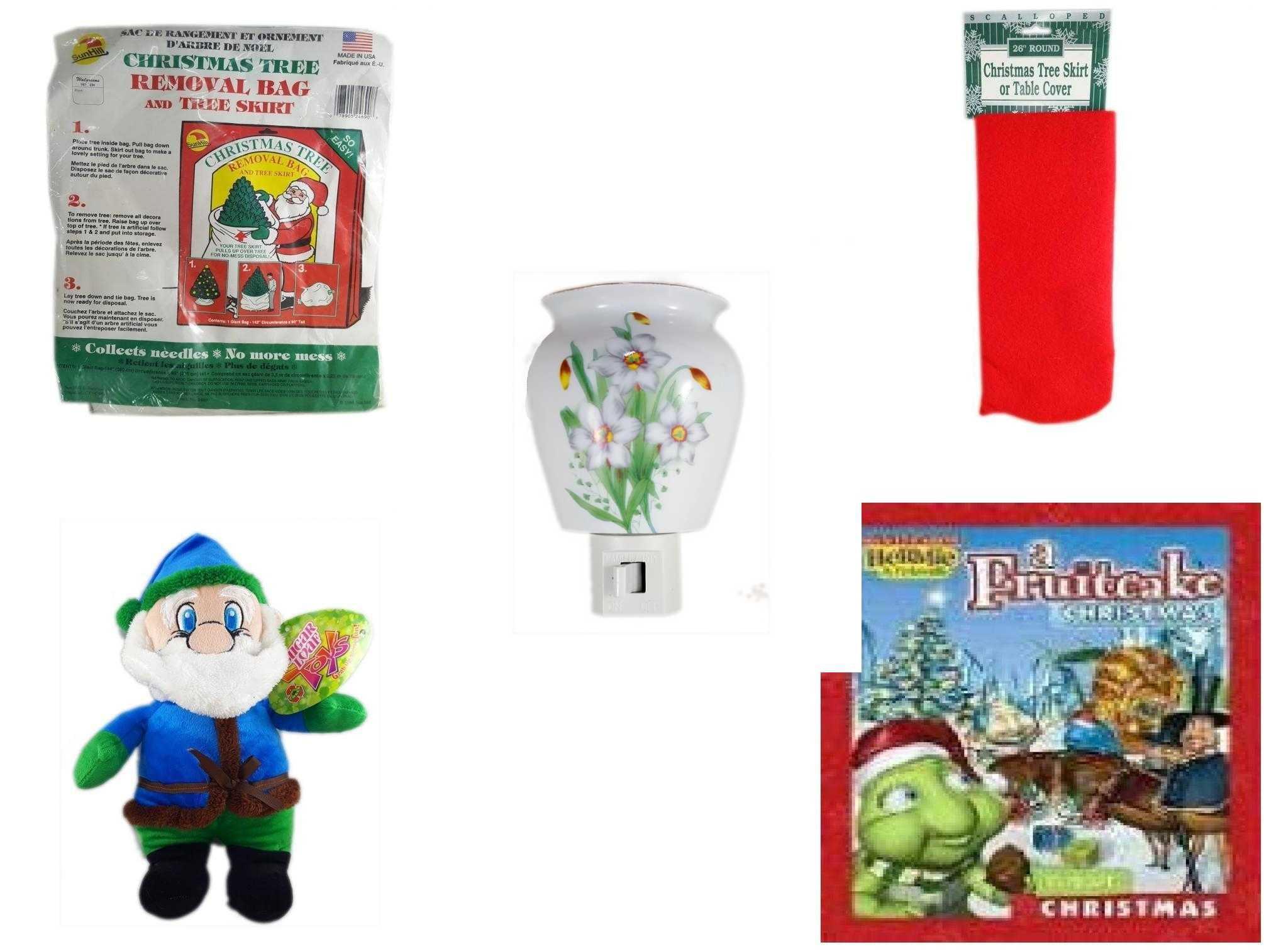 Christmas Fun Gift Bundle 5 Piece - Tree Removal Bag And ...