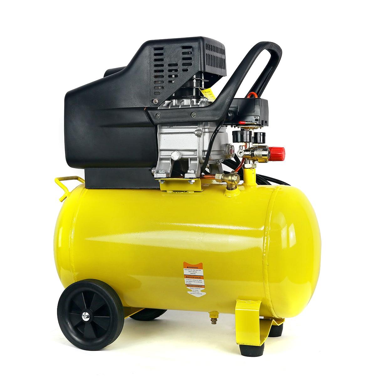 Stark Portable Quiet Air Compressor 10-Gallon Tank 3.5HP Air Compressor Ultra Quiet Compressor w  Wheel by