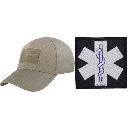 Condor Flex Tan Cap Small Medium + EMT PATCH 3