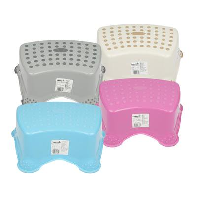 New 212907  Step Stool 4Astd Anti-Slip (10-Pack) Furniture Cheap Wholesale Discount Bulk Hardware Furniture Pineapple ()