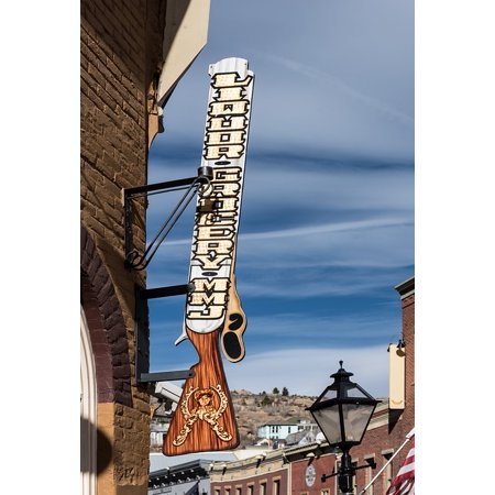 LAMINATED POSTER Cities Urban Building Colorado Store Central City Poster Print 24 x -