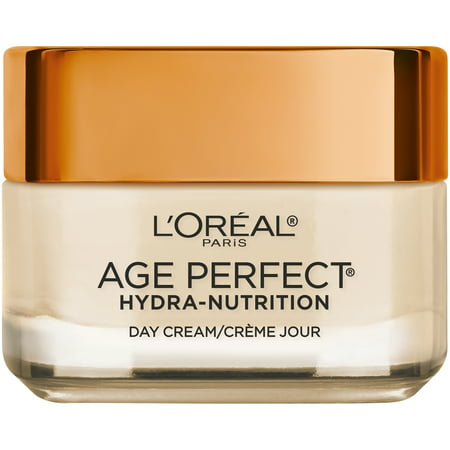 L'Oreal Paris Age Perfect Hydra Nutrition Day Cream with Manuka Honey Extract (New Look), Paraben Free, 1.7 (Best Manuka Honey Cream)