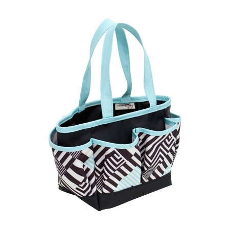 Crafters Tote, Geometric Pattern, 2018 Originals (Easy Tote Pattern)
