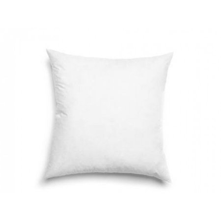 Luxurious 18-by-18 Inch 50% White Goose Down and 50% Goose Feather Euro Pillow, White 50% Down 50% Feather