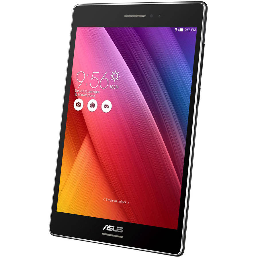 "ASUS ZenPad 8"" Tablet 32GB Intel Atom Z3530 Quad-Core Processor, Android 5.0, Black"
