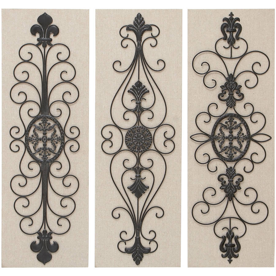 Decmode Wood and Metal Decor, Multi Color