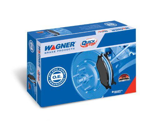 Front Wagner QuickStop ZD50 Ceramic Disc Pad Set
