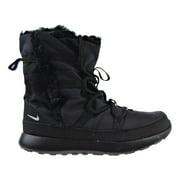 Nike Roshe One Hi(PSV) Little Kid's Shoes Black/Metallic Silver 807759-001