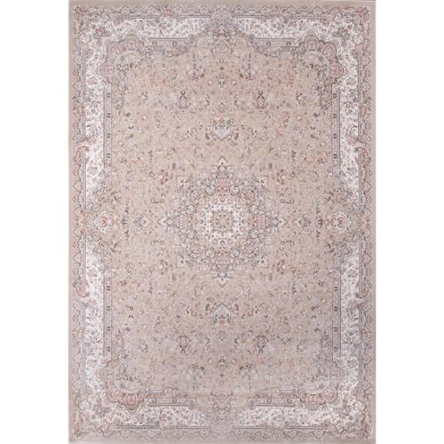Momeni Antiquity Floral Taupe Fine Area Rug (6'7' x 9'10') by Overstock