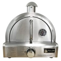 Mont Alpi MAPZ Table Top Gas Stainless Steel Large Portable Pizza Oven Cooker