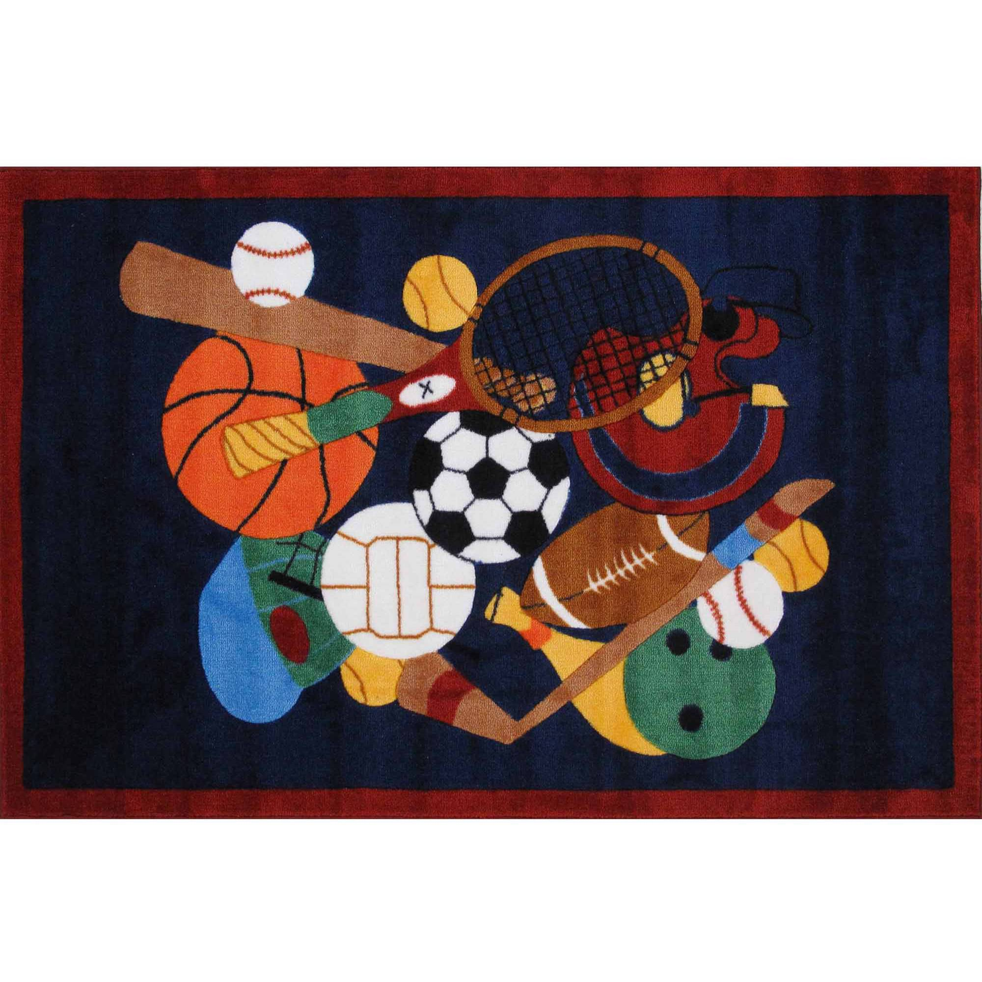 Fun Rugs Sports America Kids Rugs