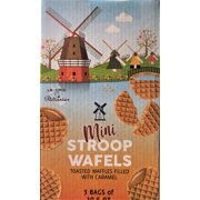 Le Chic Patissier Original Stroopwafels Mini Toasted Waffles filled with Caramel, 3 Bags of 10.5 oz, 1.98 LBS