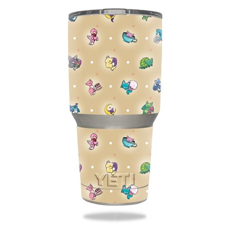 Skin For YETI 30 oz Tumbler - Cute Kittens | MightySkins Protective, Durable, and Unique Vinyl Decal wrap cover | Easy To Apply, Remove, and Change Styles - Cute Halloween Food Tumblr