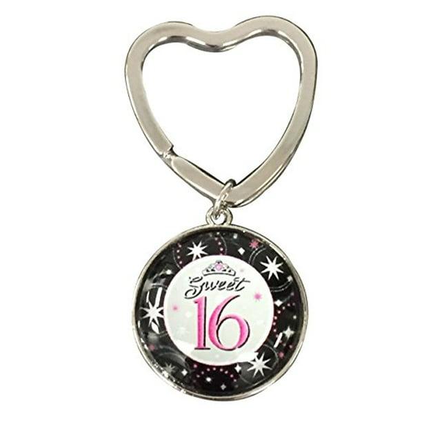 Wonderbaarlijk Sweet 16 Gift- Sweet 16 Keychain - Sweet Sixteen Gift- Perfect ZB-31
