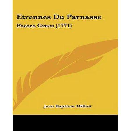 Etrennes Du Parnasse: Poetes Grecs (1771) - image 1 of 1