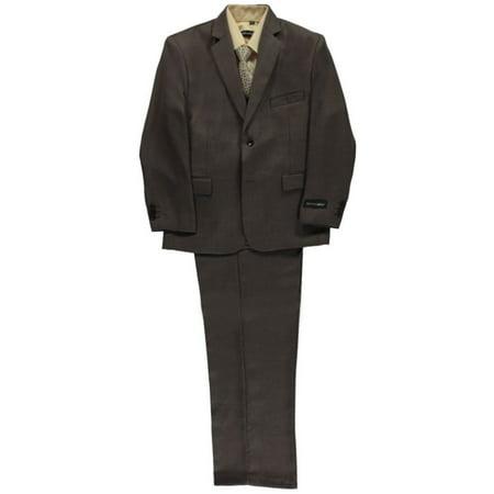 "Kids World Big Boys' Husky ""Burnham"" 5-Piece Suit (Sizes 8H - 20H)"
