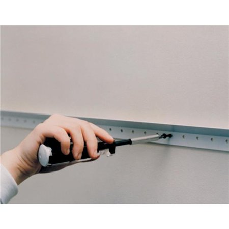 Easy Track RE1048 48 in. Easy Track Rail, White - image 1 of 1