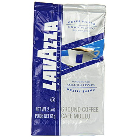 Lavazza Gran Filtro Ground Coffee, 2.25-Ounce Bags (Pack of 30)
