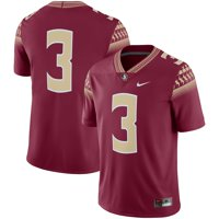 Florida State Seminoles Nike Team Game Football Jersey - Garnet