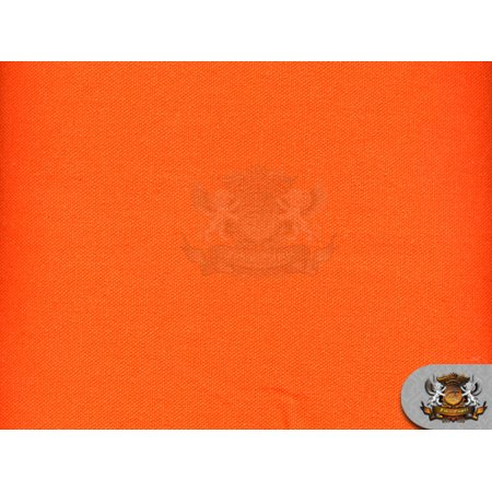 Canvas Duck 10 oz Dyed Solid Fabric ORANGE / 54