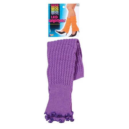Neon Leg Warmers Purple Forum Novelties 67794