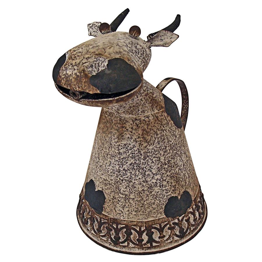 Animal Aquifers Metal Cow Watering Can by Design Toscano