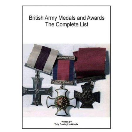 British Army Medals & Awards: The Complete List - (Army Of Occupation Medal)