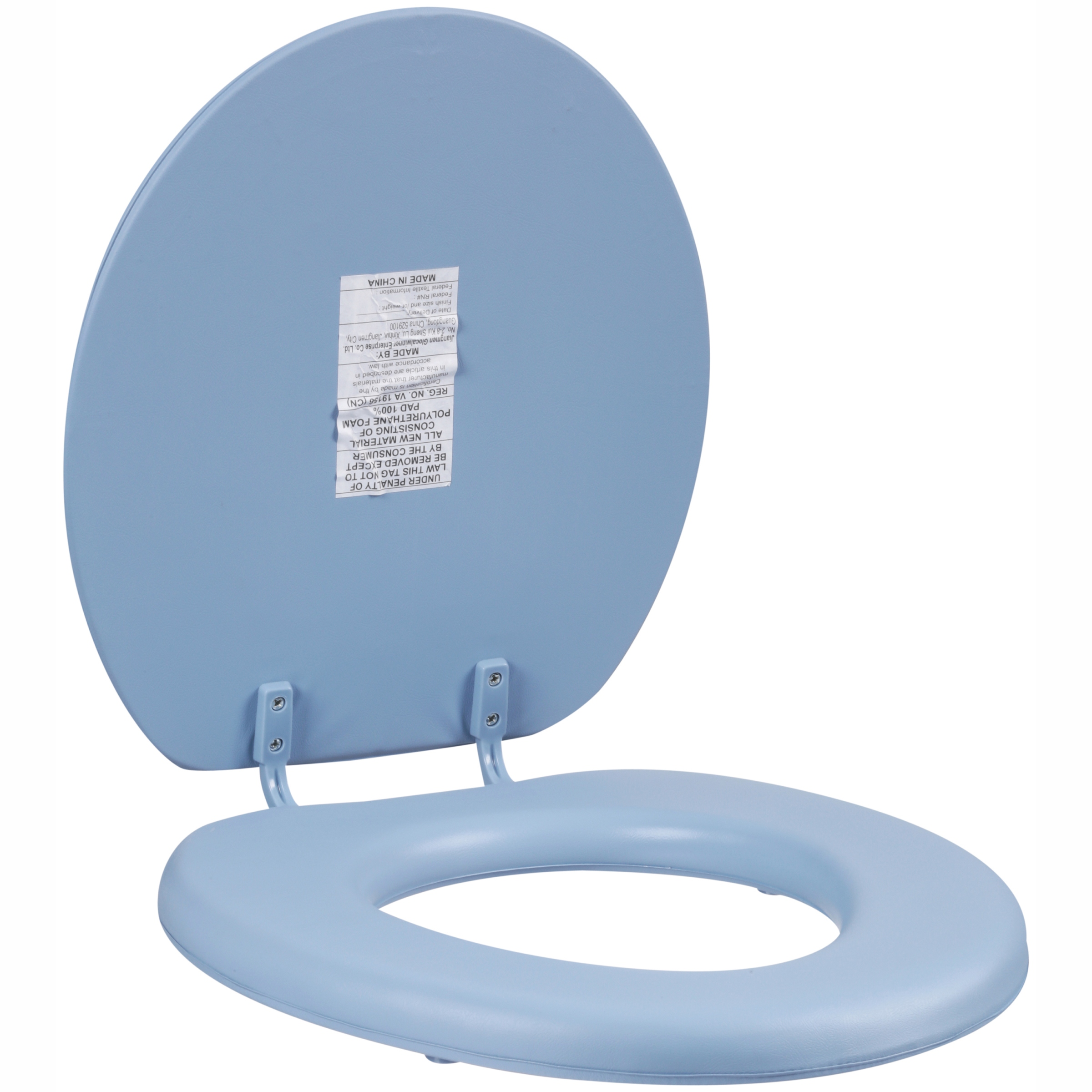 Mainstays™ Blue Soft Vinyl Toilet Seat