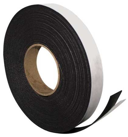 Adhesive Magnetic Strip,50ft L x 1in W MAGNA VISUAL P-240P