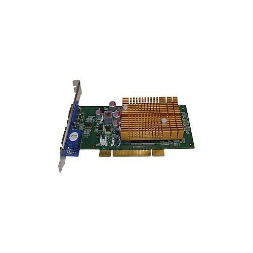 Jaton VIDEO-348PCI-256TWIN - Graphics card - GF 6200 - 256 MB DDR2 - PCI - 2 x D-Sub