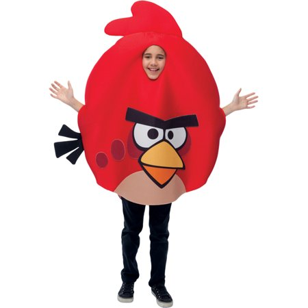 Morris Costumes Angry Birds Red Child (Let's Play Angry Birds Halloween)