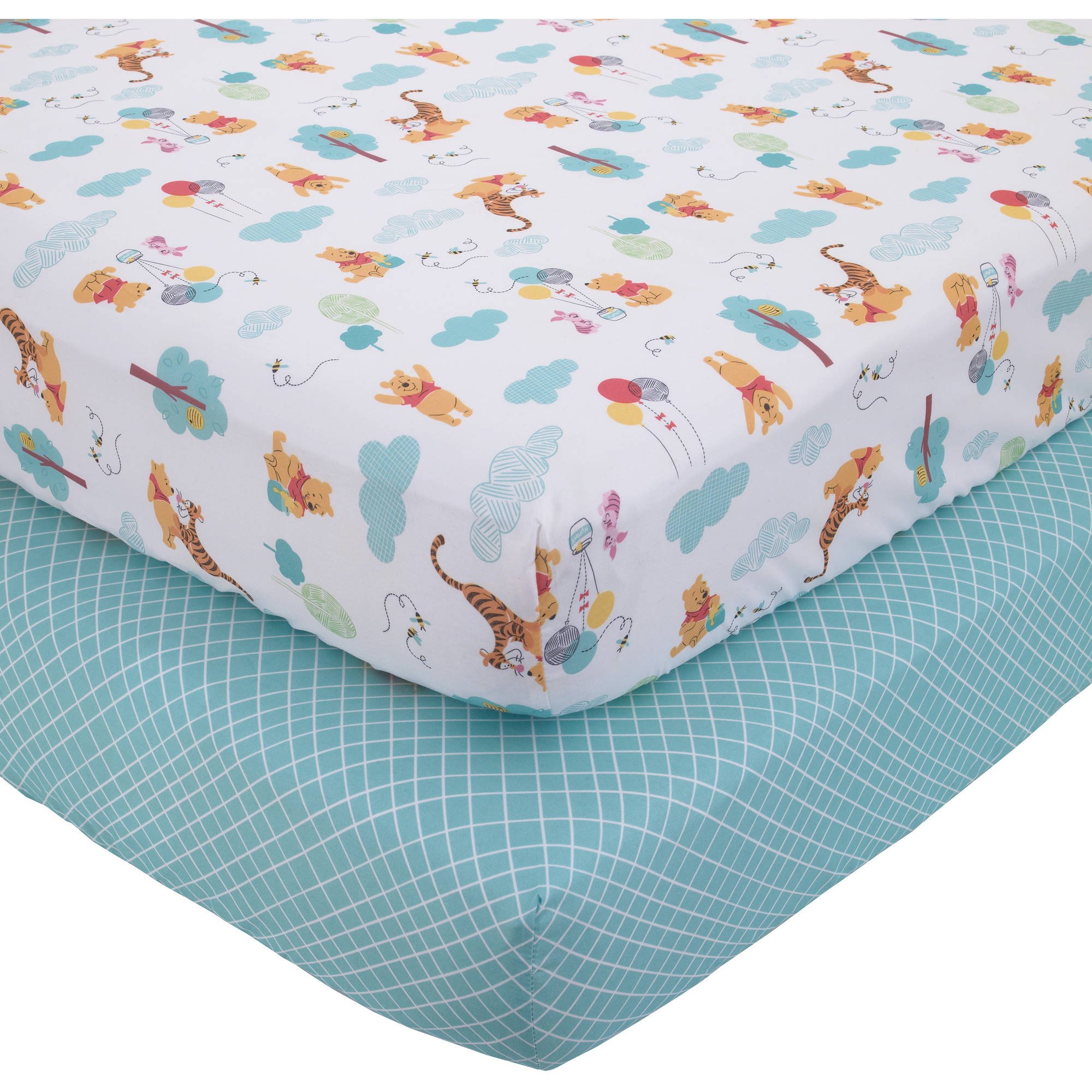 Disney Pooh Best Friends 2pk sheet Set