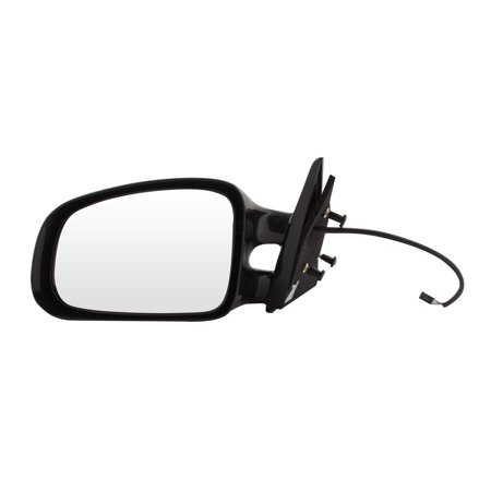 For Pontiac Grand Am Black Power Non Heated Replacement Driver Side Mirror