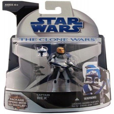 Star Wars The Clone Wars - Captain Rex Mail-in Figure](Star Wars The Clone Wars Captain Rex)