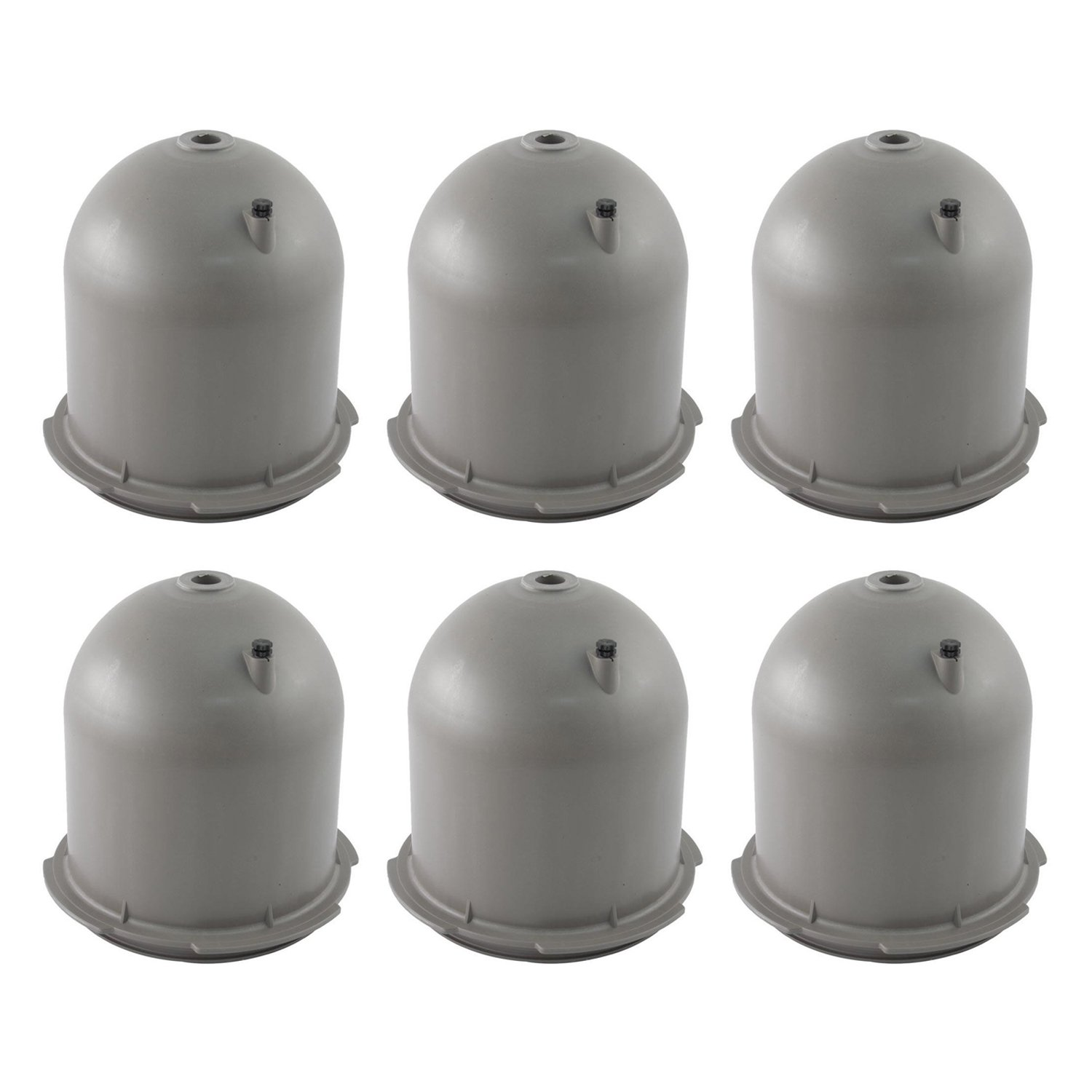 Hayward Star-Clear Plus Replacement Cartridge Vent Valve Filter Head  (6 Pack)