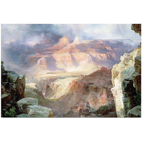 "Trademark Fine Art ""A Miracle of Nature 1913"" Canvas Art by Thomas Moran"