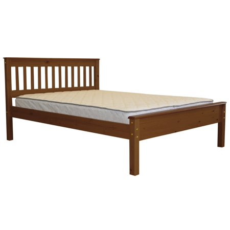 BK Mission Style Full Bed Expresso Locker Room Style Bed