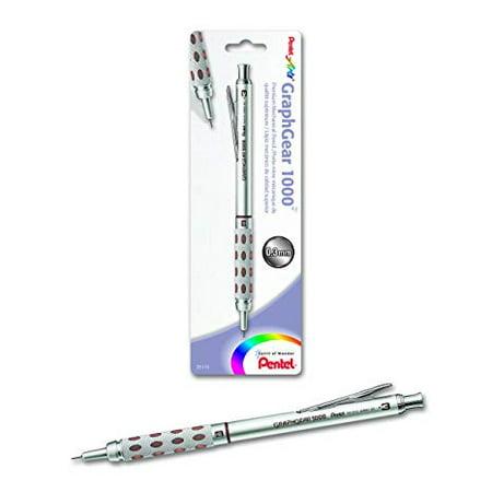 Pentel - GraphGear Drafting Pencil - GraphGear 1000 - .3mm - Brown, Carded