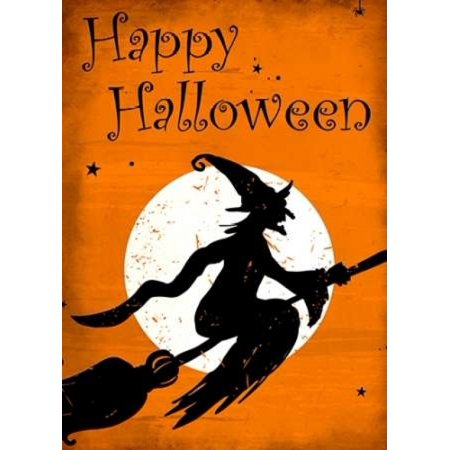 Happy Halloween Witch Poster Print by Kimberly Allen (9 x 12)](Happy Halloween 9)