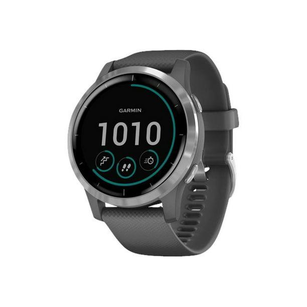 Garmin Vivoactive 4 Shadow Gray Case Silicone Band GPS Smartwatch