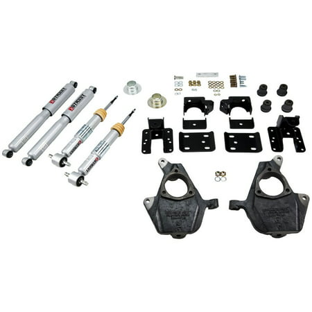 Belltech 1001SP Lowering Kit For Ford F-150 Durablue Front Lowering Kit