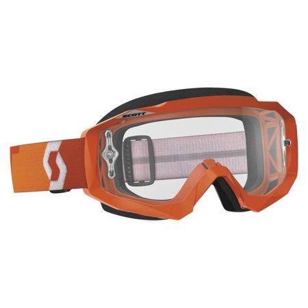 Scott Hustle MX Offroad Goggles w/Clear Lens Orange