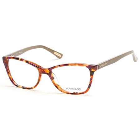 GUESS BY MARCIANO Eyeglasses GM0266 055 Colored Havana (Multi Colored Eyeglasses)